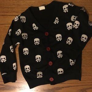Other - Skull Cardigan